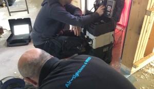 Airtightness Testing ot 0.1