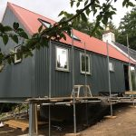 Timber Frame extension build photo