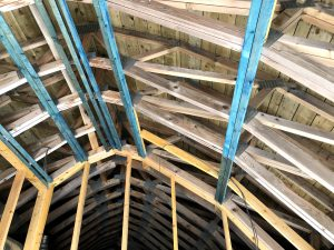Icynene Case Study Curved Roof