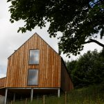 Scottish larch cladding photo