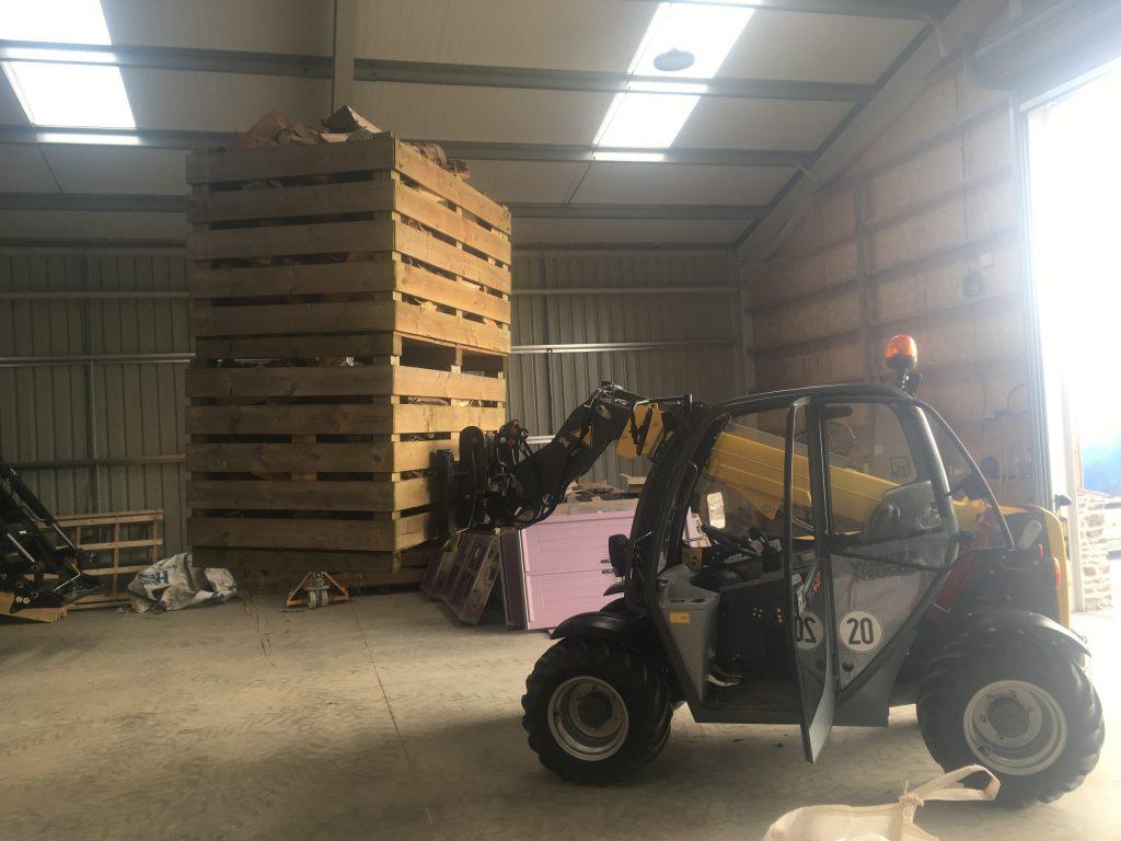 Joinery Machinery Pallets Photo