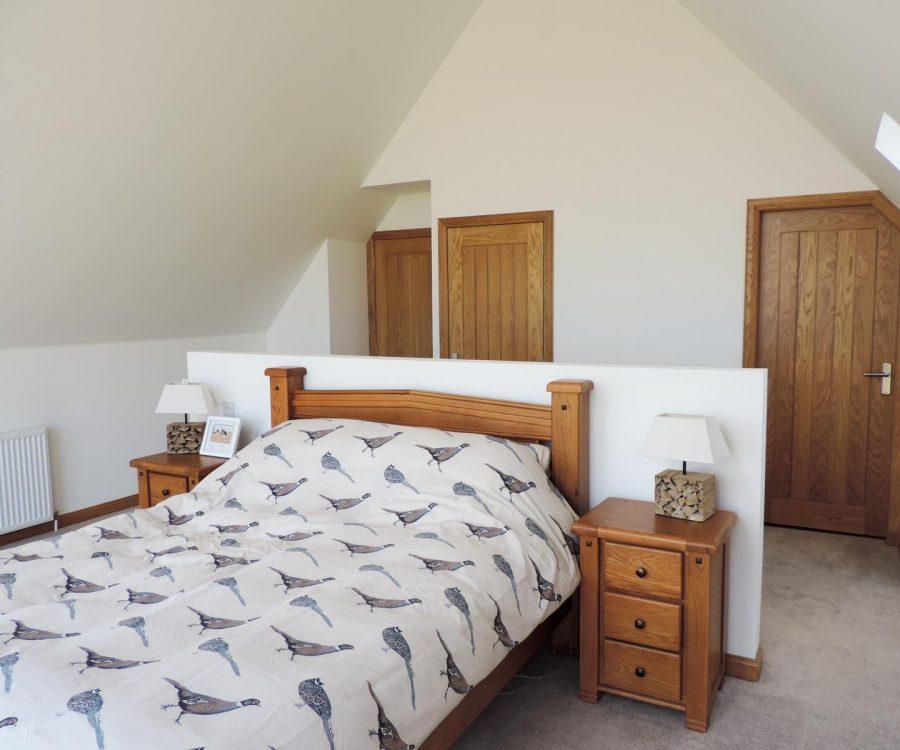 Newton of plaidy bedroom